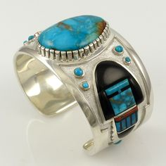 Candelaria Turquoise Cuff - Jewelry - Michael Perry - 2
