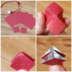 """Foldable """"magic stars"""" - a guide from Best Picture For christian Kids Crafts For Your Taste You are Crafts For Girls, Diy And Crafts, Paper Crafts, Christian Kids Crafts, Christmas Art, Christmas Decorations, Stampin Up, Creative Workshop, Origami Tutorial"""
