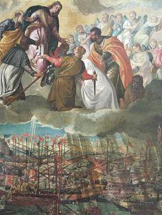 7 octobre 1571 - victoire navale de Lépante qui sauve la Chrétienté de l'invasion musulmane. Fête de Notre Dame du Très-Saint Rosaire ou Notre Dame de la Victoire