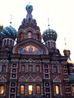 Outside of The Church on Spilled Blood, St. Petersburg