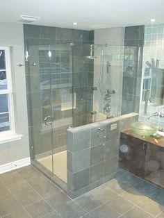Bathroom  OLYMPUS DIGITAL CAMERA Frameless Shower Doors Complete the Captivating Master Bathroom Interior Design