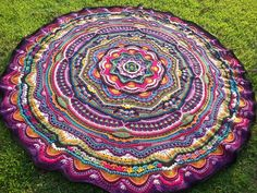 I'm sorry I wasn't back yesterday as promised, but life has a funny way of happening, no matter how much I want to be online or working on my latest crochet project. So, by means of an apology, I am providing you all the instructions to crochet this drop-dead gorgeous, stunning giant Mandala Blanket. We …