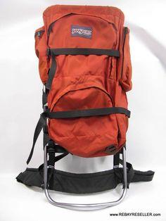 Vintage Lowe Alpine System Huge Internal Frame Backpack