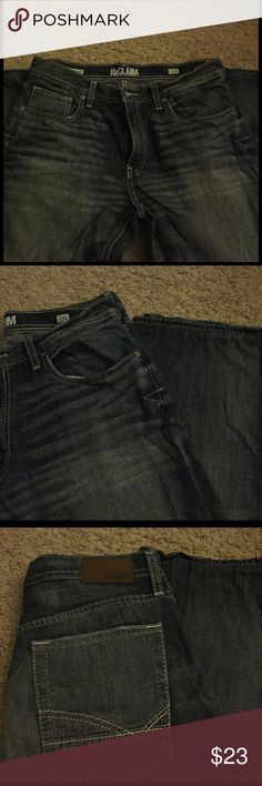 Buckle Jeans Mint condition!  Never worn tags says 33x32 but had altered by Buckle to fit 33x30 ReClaim Jeans Relaxed