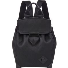 Alexander Wang Prisma Skeletal Backpack ($459) ❤ liked on Polyvore featuring bags, backpacks, black, rucksack bag, alexander wang bag, alexander wang backpack, black top handle bag e black rucksack