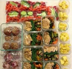 Meal prep Mondays. Make all your food for the week, best way to diet!