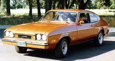 1976 Mercury Capri.  I used to love driving this car.