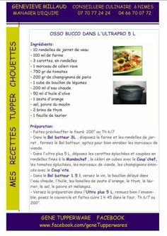 Tupperware - Osso Bucco dans l'ultrapro 5 L