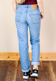 336b0a6b Vintage 90's Levi's 501 Button Up High Waist Jeans Levis 501, Levis Jeans,  Mom