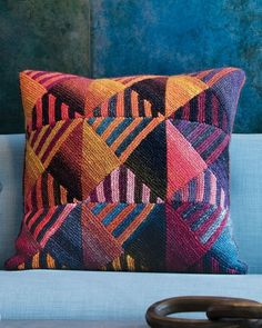 Noro Magazine - Directional Pillow Cover