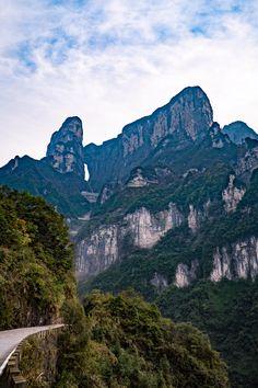 Win a trip to #China! Tianmen Mountain National Park, Zhangjiajie, China