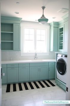 Beautiful laundry room: The Sunnyside Up Blog - Southern Hospitality