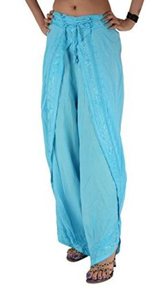 dda60edc54 Eurotard Women s Adult Palazzo Pants - 13696 The Adult Palazzo Pants with  Elastic Waist are a wonderful investment for dancers looking to pu…