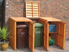 Garden Shed Organization Recycling Bins 19 Best Ideas