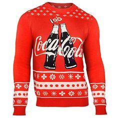 Holiday Crewneck Regular Sweaters for Men Family Christmas Sweaters, Couple Christmas, Cute Christmas Sweater, Holiday Sweater, Kids Christmas, Merry Christmas, Coca Cola Bottles, Pepsi Cola, Coca Cola Addiction