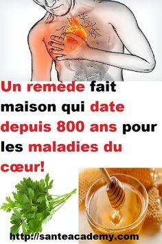 Un remède fait maison qui date depuis 800 ans pour les maladies du cœur! Nutrition, Being Healthy, Health Remedies, Biography