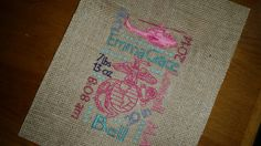 Check out this item in my Etsy shop https://www.etsy.com/listing/226373510/custom-8x10-birth-announcement-on-burlap