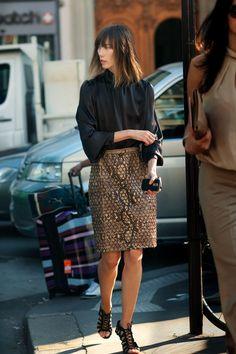 ANYA ZIOUROVA  Fashion Director, Tatler Russia  Freelance Stylist