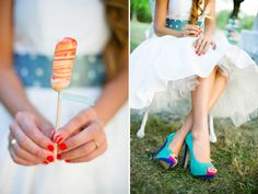Ice Cream Styled Shooting