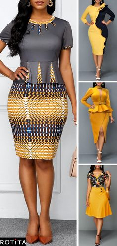 Dresses online for sale Best African Dresses, Latest African Fashion Dresses, African Print Fashion, African Attire, Early Fall Fashion, Fall Capsule, Fashion Outfits, Fashion Fashion, Capsule Wardrobe