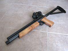 M. Cerdan custom airgun pistol. All hand made!