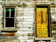 Front Door To An Old Abandoned House. Greeting Card for Sale by ...