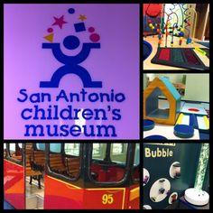 a visit to the san antonio children's museum!