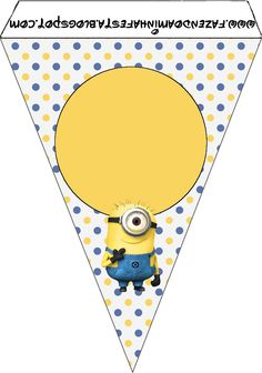 Minions: Party Free Printables. | Oh My Fiesta! in english