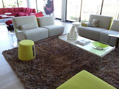 'orbit' stool at Ligne Roset. Ligne Roset, Benches, Floor Chair, Stools, Shag Rug, Flooring, Rugs, Furniture, Home Decor