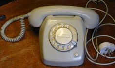 Ericsson T65, my first telephone (approx. 1972).