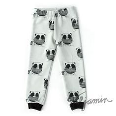 Gray Panda pants | Viljamin Puotilove the fabric