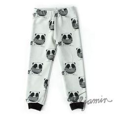 Gray Panda pants | Viljamin Puotilove the fabric