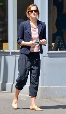 Emma Watson in West Village. (May 7)