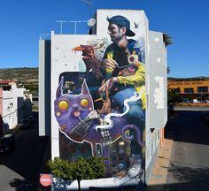Dulk & Sebas Velasco in Torreblanca, Spain | Street Art Hub