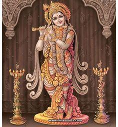 Lord Krishna, Princess Zelda, Fictional Characters, Art, Art Background, Kunst, Performing Arts, Fantasy Characters, Art Education Resources