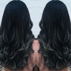 Silver balayage/ombre