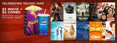 Five Dollar Movies + a Five Dollar Combo on 4/26/12 at Celebration Cinema! (select titles, must print coupon)