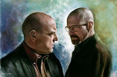 Breaking Bad Fine Art by Isabella Morawetz