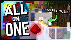 All In One Room Map 1.10.2/1.9.4/1.8.9 - minecraft adventure maps : All In One Room Map is actually a modern house. It has not only smart house but  ...  #adventure #maps | http://niceminecraft.net/category/minecraft-maps/