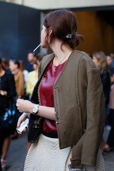 Milan Fashion Week. September 2013. sartorialist.com