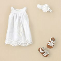 Going home dress? Yes :) newborn - outfits - fresh dressed girl - floral flair | Children's Clothing | Kids Clothes | The Children's Place