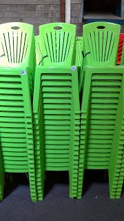 Selatan Jaya distributor barang plastik Surabaya: Kursi makan plastik merk Napolly kode 212 warna hi...