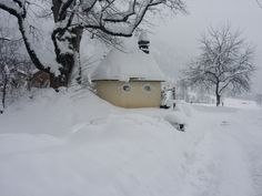 romantisch und tief verschneit - die Umgebung von #München