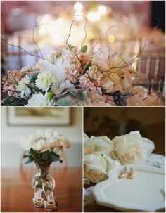A Sophisticated Ballroom Glamour Wedding - MODwedding Mod Wedding, Wedding Decor, Wedding Ideas, Flower Centerpieces, Wedding Centerpieces, Ballroom Wedding, Center Pieces, Wedding Details, Glamour