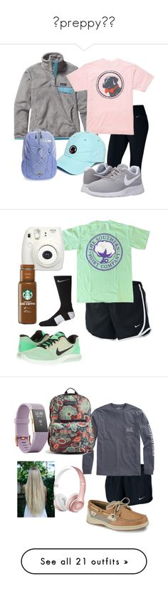 preppy⚓️ by ashlyngumm on Polyvore featuring polyvore, fashion, style, NIKE, Patagonia, Southern Proper, The North Face, clothing, Fujifilm, Vineyard Vines, Sperry, Vera Bradley, Fitbit, Beats by Dr. Dre, Topshop, adidas, S'well, Chopard, Harper & Blake, CamelBak, Converse, Dorothy Perkins, UGG, Lilly Pulitzer, Paige Denim, Hunter, Sole Society, Ivory Ella, adidas Originals, True Grit, Victoria's Secret, Birkenstock, Canon, Tervis, Chaco, Yves Saint Laurent, Native Union and Sweaty Betty