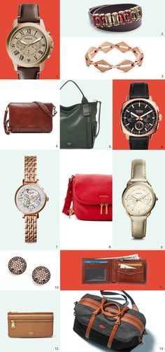 It's the most wonderful SALE of the year! Wish list left unfulfilled? Treat yourself (you earned it) with up to 30% off all your Fossil favorites watches, handbags, accessories and more.