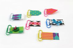 Paperclip Bookmarks | Fun Family Crafts