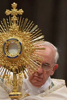 We are living sacraments of the embrace between God's riches and our poverty.