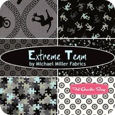 Extreme Team Fat Quarter Bundle Michael Miller Fabrics - Fat Quarter Shop