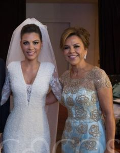 Vestido de noiva e da mãe da noiva - Ateliê Sob Medida Esther Bauman Acquastudio / São Paulo-SP